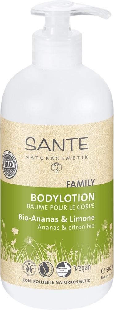 Sante - Family Body Lotion Pineapple & Lemon 500 ml 1