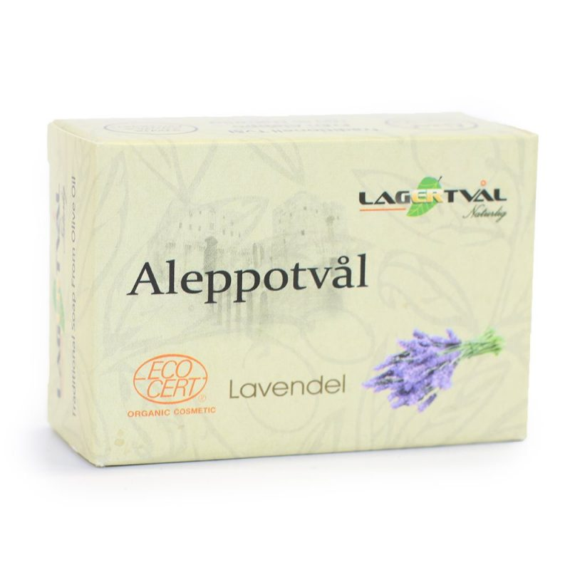 Aleppotvål Lavendel 1