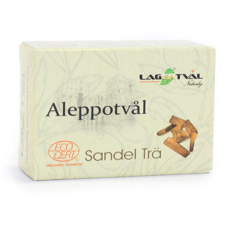 Aleppotvål Sandelträ 1