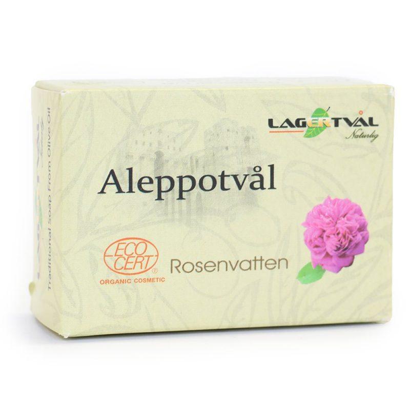 Aleppotvål Rosenvatten 1