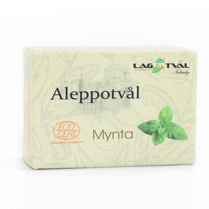 Aleppotvål Mynta 1