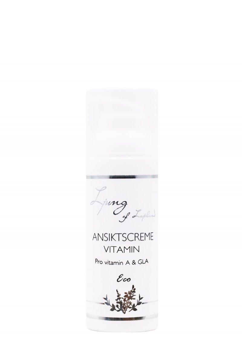 Ljung Hudvård Ekologisk Ansiktscreme Vitamin 50 ml