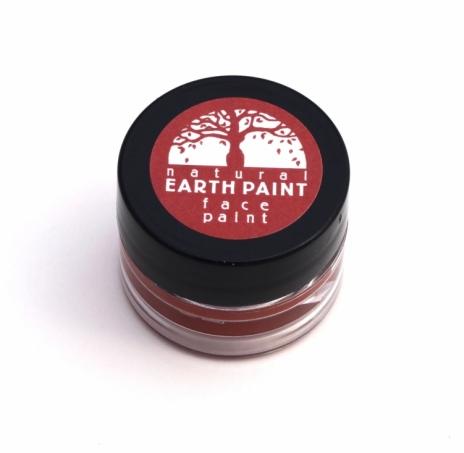 Natural Earth Paint - Ekologisk & Naturlig Ansiktsfärg Röd 1
