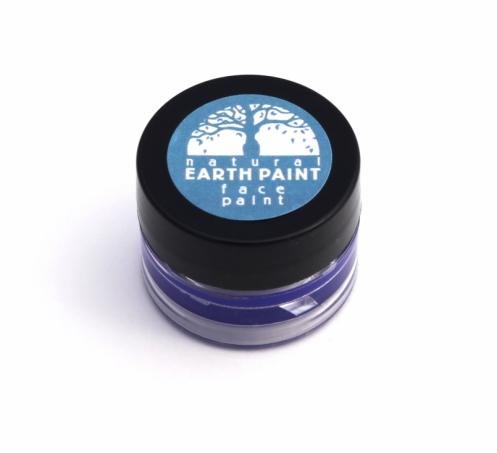 Natural Earth Paint - Ekologisk & Naturlig Ansiktsfärg Mörkblå 1