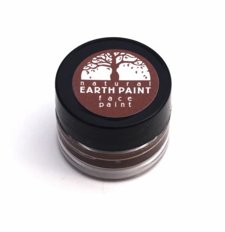 Natural Earth Paint - Ekologisk & Naturlig Ansiktsfärg Brun 1