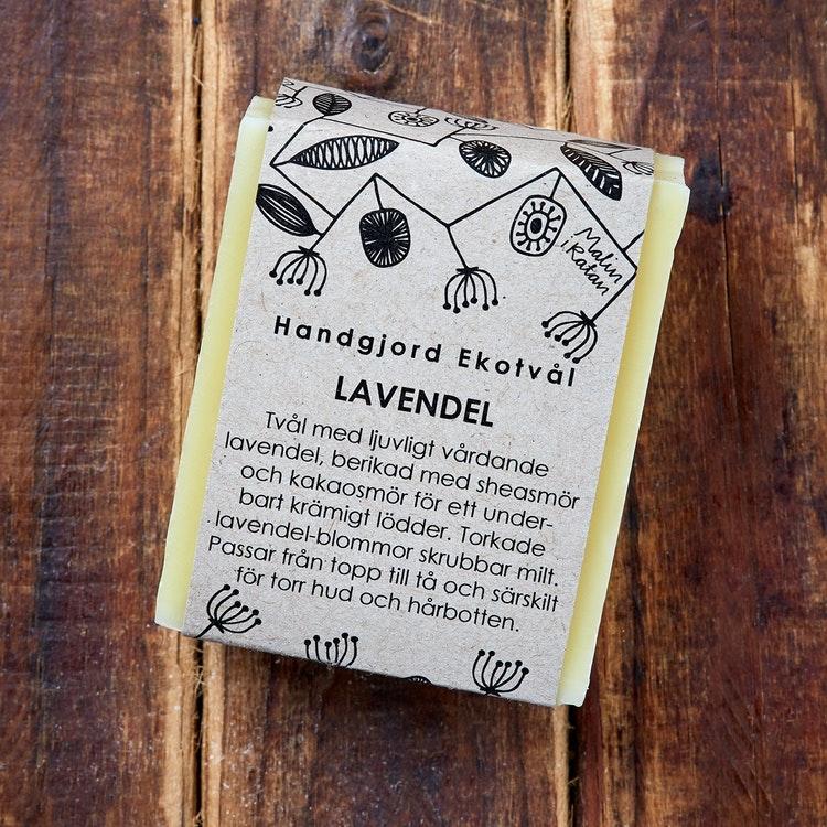 Malin i Ratan Ekologisk Tvål Lavendel, 110 g 1