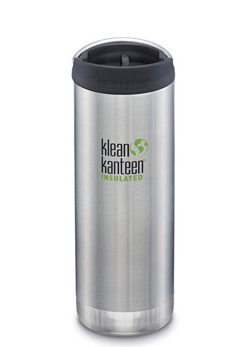 Insulated TKWide Café Cap Brushed Stainless 473 ml
