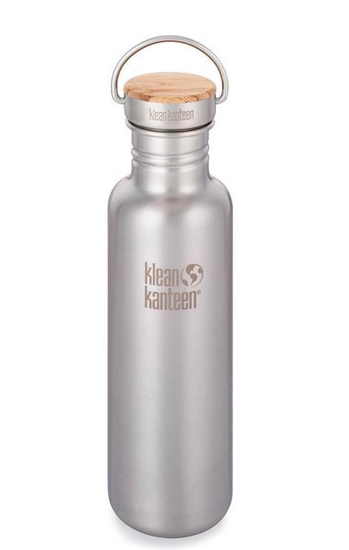 Vattenflaska Bambu Reflect Brushed Stainless 800 ml