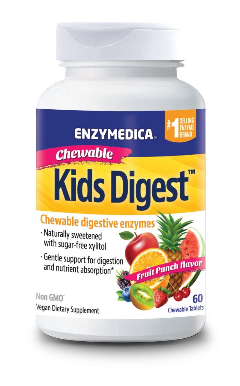 Enzymedica KIDS Digest Chewable / Matsmältningsenzymer för barn 1