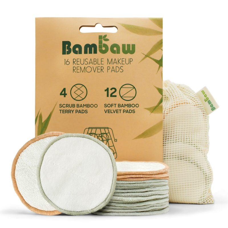 Bambaw - Återanvändbara Rengöringspads 16 st 1
