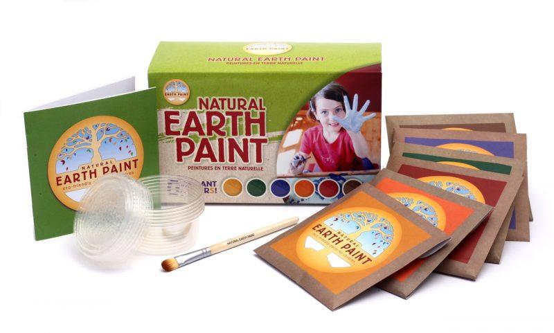 Natural Earth Paint Målarkit för Barn