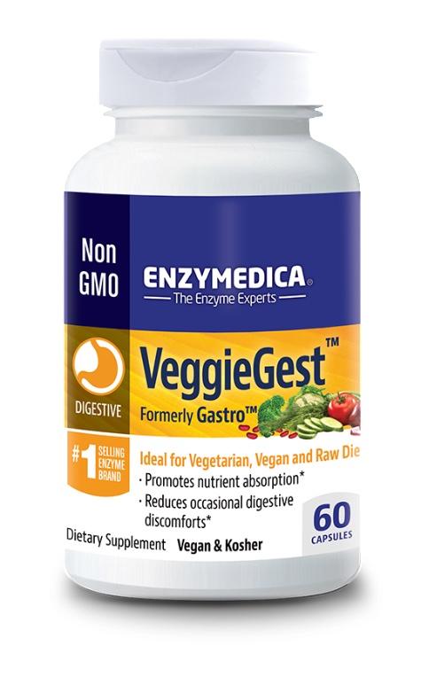 Enzymedica VeggieGest 60 kapslar 1