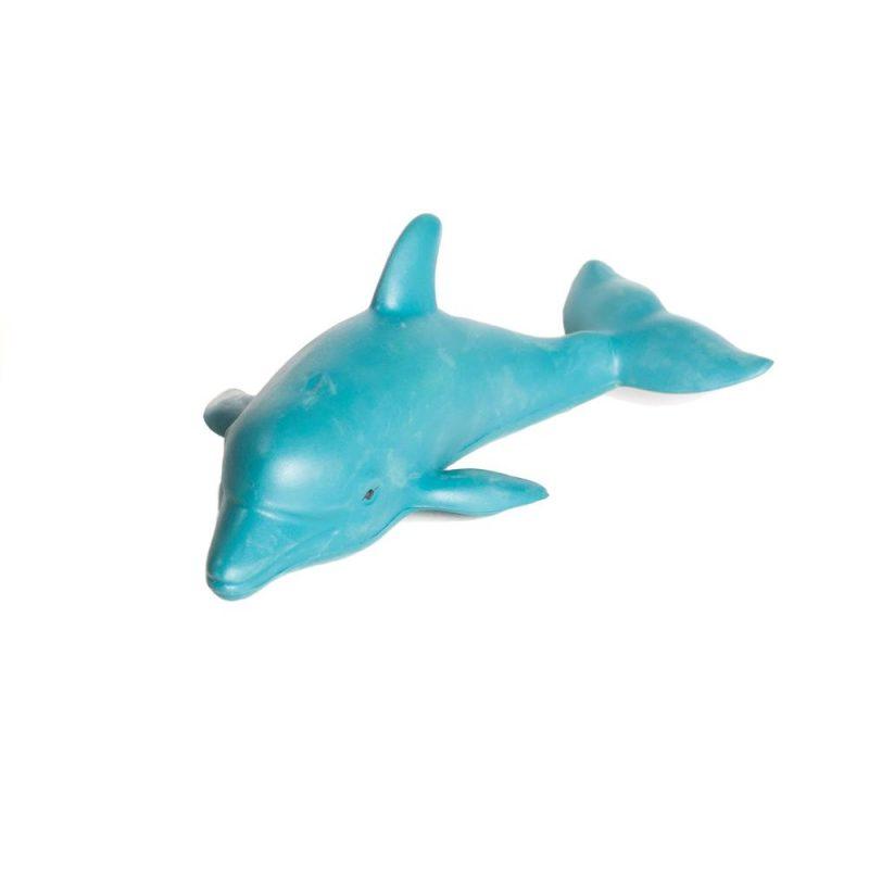 Green Rubber Toys - Badleksak Delfin Naturgummi 1