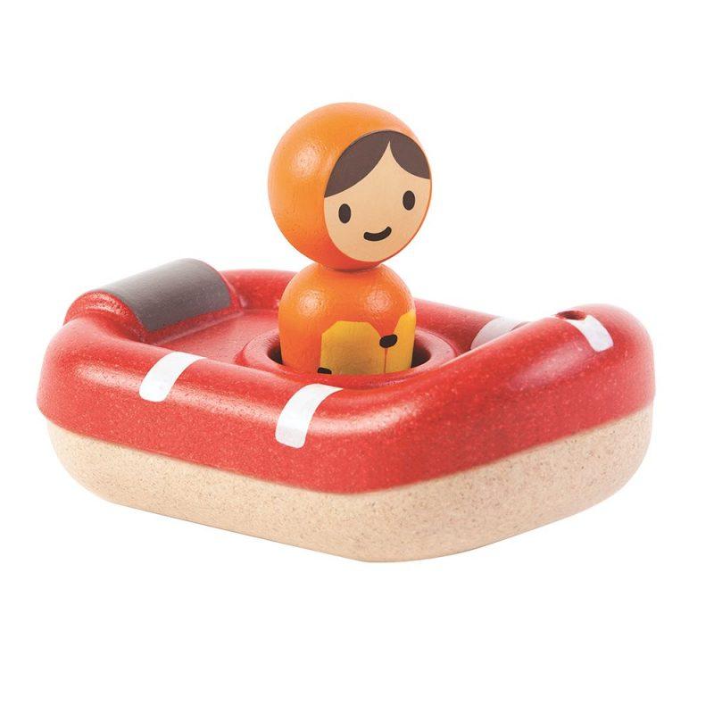 Badleksak Räddningsbåt i Trä