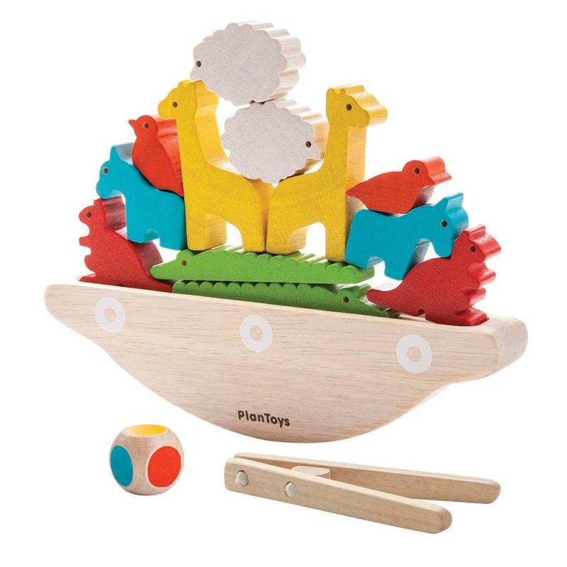 Balansspel Balanserande Båt