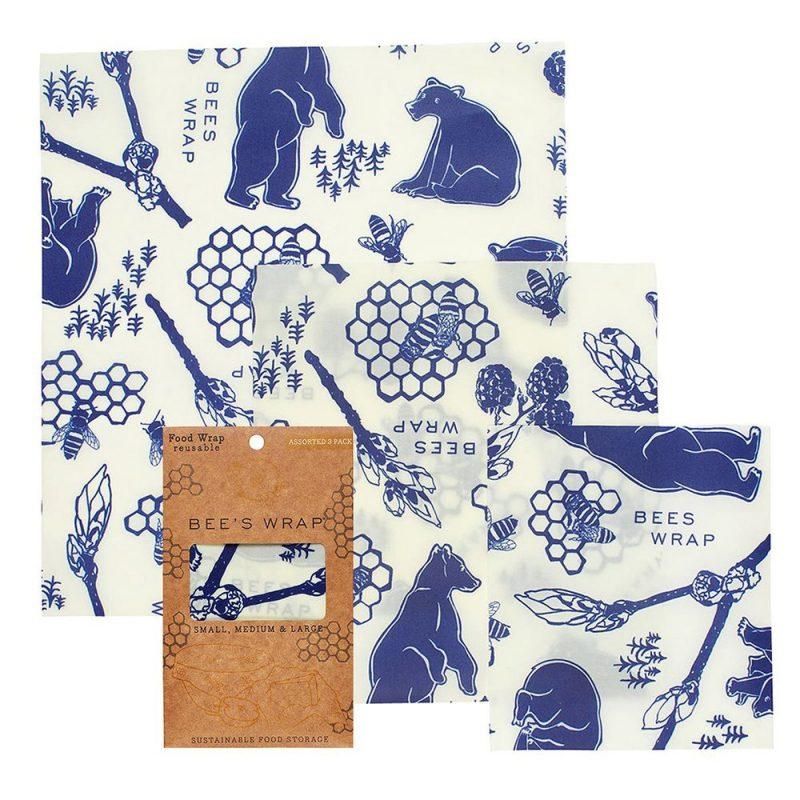 Bee's Wrap - Naturligt och Ekovänligt Folie S/M/L - 3-pack 1