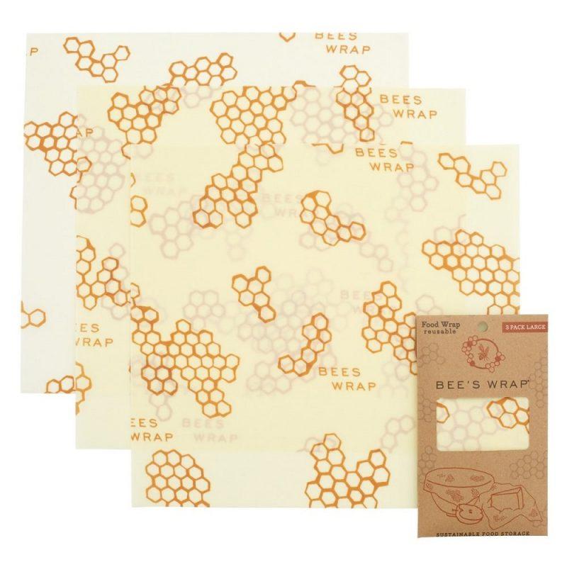 Bee's Wrap - Naturligt och Ekovänligt Folie Large - 3-pack 1