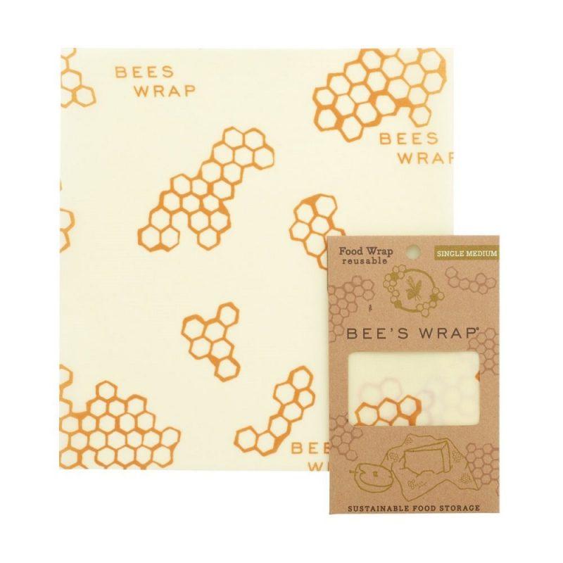 Bee's Wrap - Naturligt och Ekovänligt Folie Medium - 1 st 1