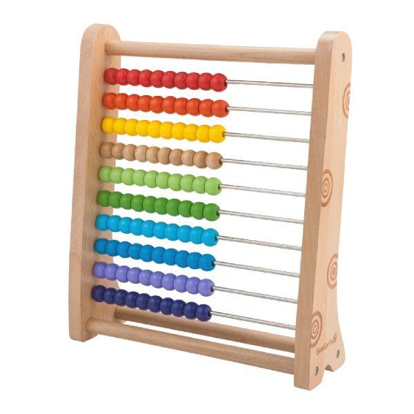 Kulram i Trä Abacus