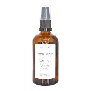 Organics by Sara Massage Oil Activating Rosemary 100 ml