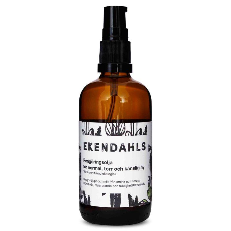 Ekendahls Ekologisk Rengöringsolja – Normal till Torr Hy 100 ml