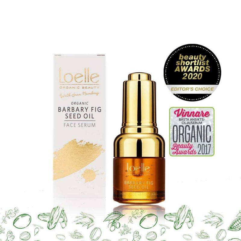 Loelle - Ekologiskt Ansiktsserum Barbary Fig Seed Oil, 16 ml 1