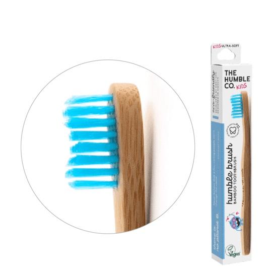 Humble Brush Ekologisk Tandborste Barn, Blå 1