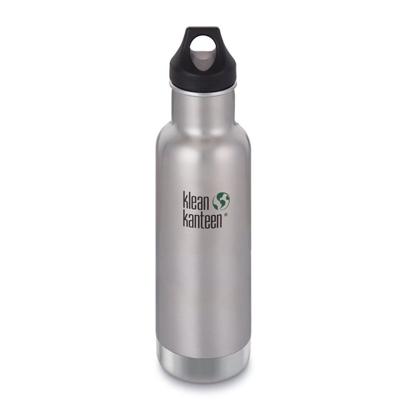 Klean Kanteen - Isolerad Vattenflaska Insulated Classic Brushed Stainless 592 ml 1