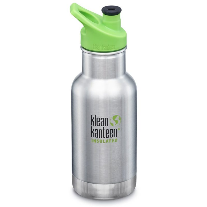 Klean Kanteen - Isolerad Vattenflaska Kid Classic Brushed Stainless 355 ml 1