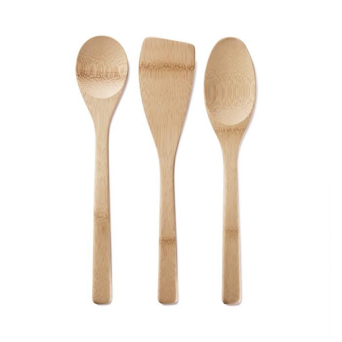 Bambu Home Köksredskap Bambu Ekologiska – Set om 3 st