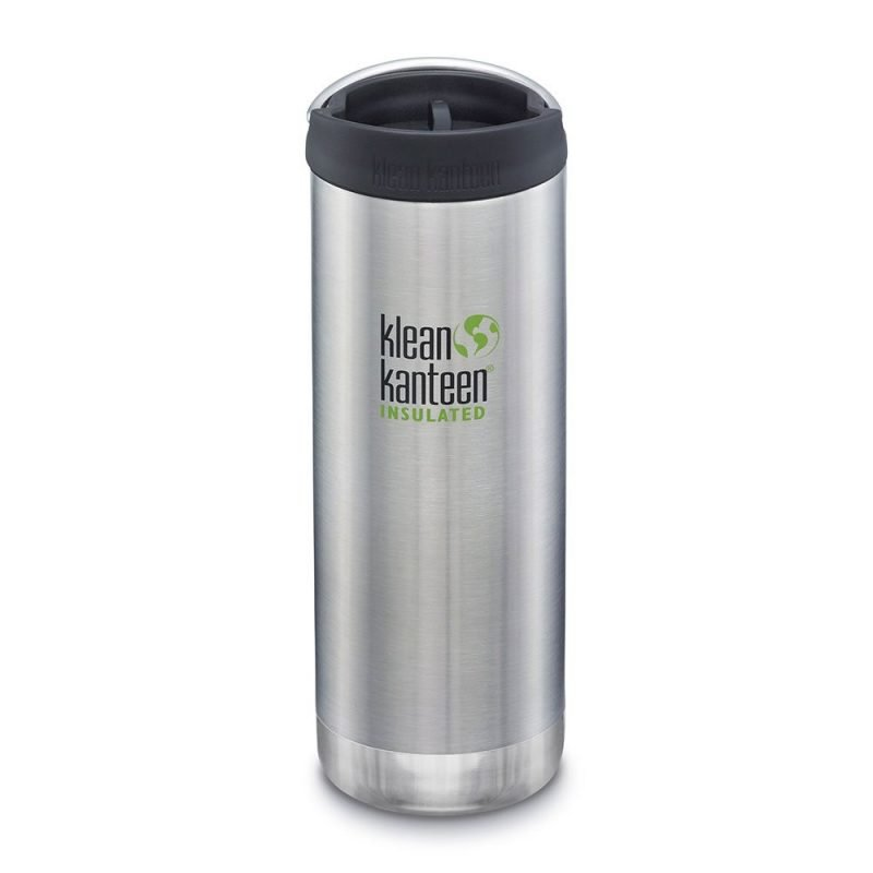 Klean Kanteen - Insulated TKWide Brushed Stainless Café Cap 1