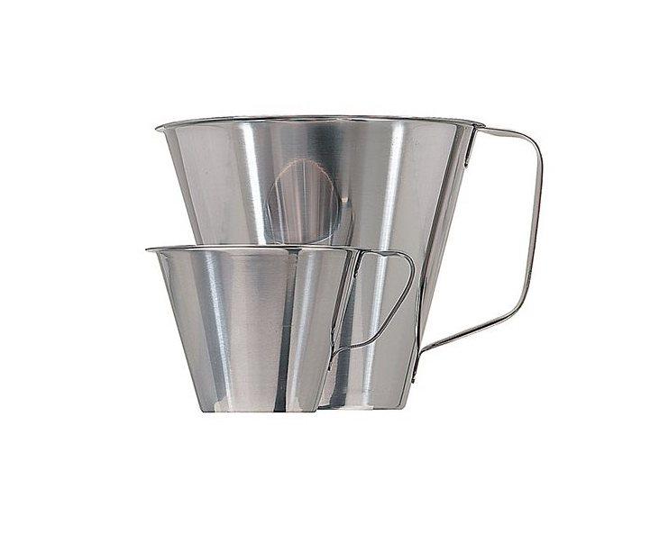 Köksmått i rostfritt stål - 1 L 1