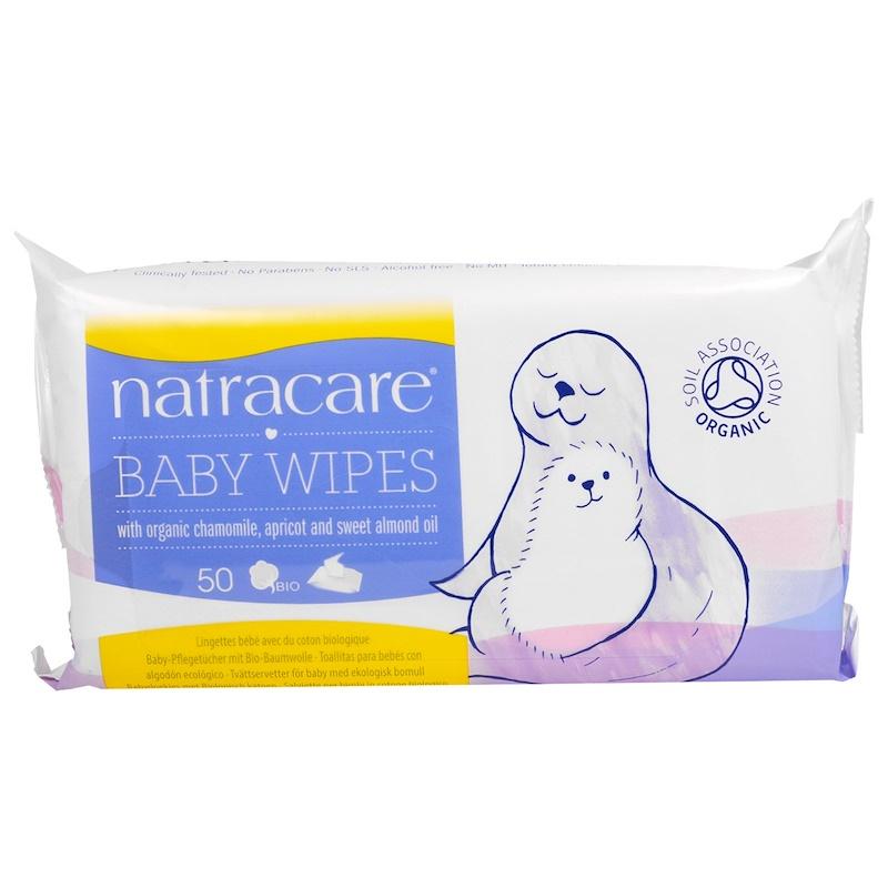 Natracare - Ekologiska Våtservetter för Bebis 1
