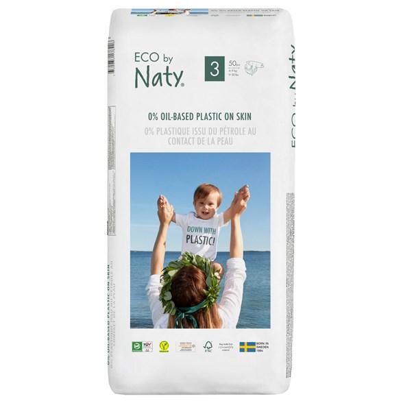 Naty - Ekologiska Blöjor Stl. 3 (4-9 kg), 50 st 1
