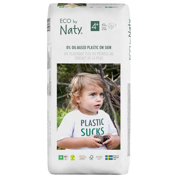 Naty - Ekologiska Blöjor Stl. 4+ (9-20 kg), 42 st 1