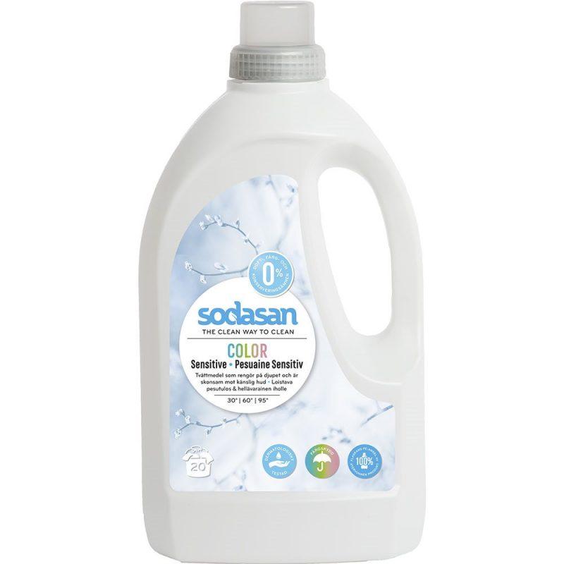 Sodasan - Color Tvättmedel Sensitive 1,5 L 1