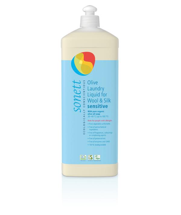 Sonett flytande tvättmedel för ull & silke utan doft