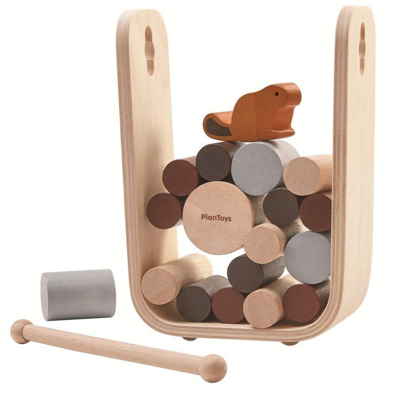 PlanToys - Spel i Trä Timber Tumble 1