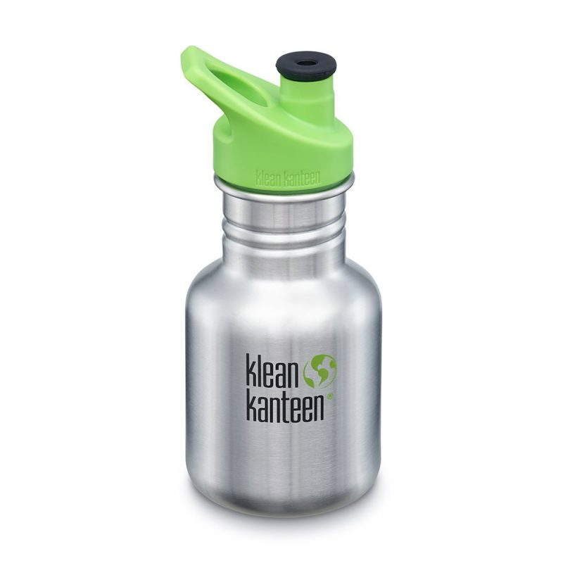 Klean Kanteen - Sportflaska Kid Classic Sport Brushed Stainless 355 ml 1