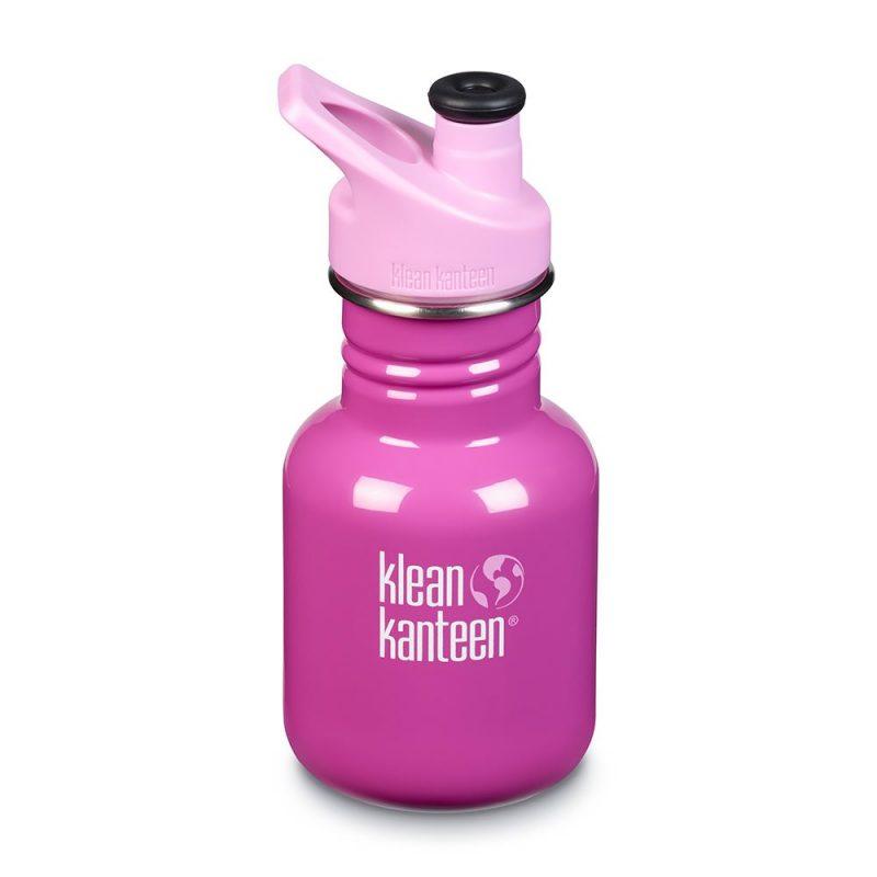 Klean Kanteen - Sportflaska Kid Classic Sport Bubble Gum 355 ml 1