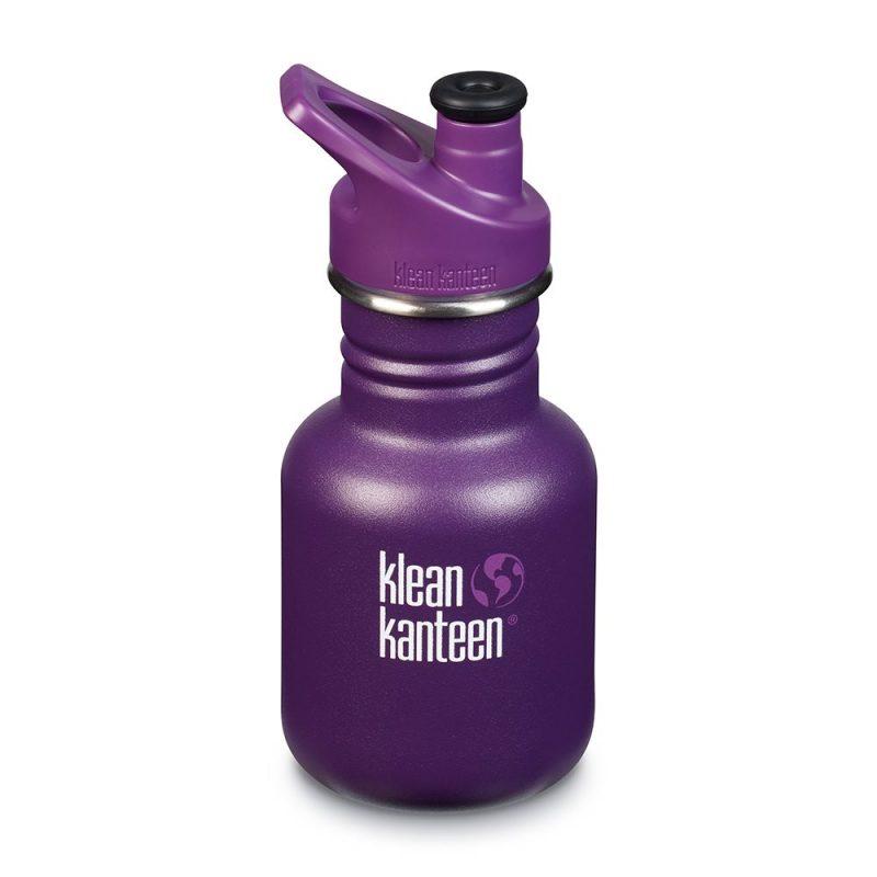 Klean Kanteen - Sportflaska Kid Classic Sport Grape Jelly 355 ml 1