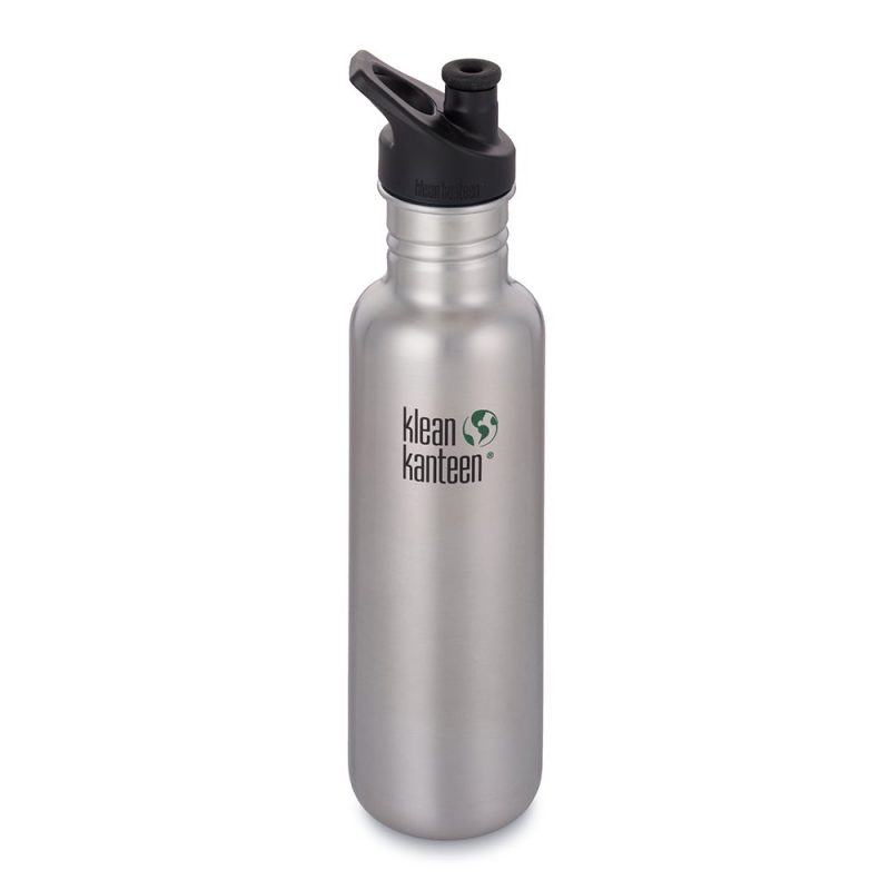 Vattenflaska Classic Sport Cup Brushed Stainless 800 ml