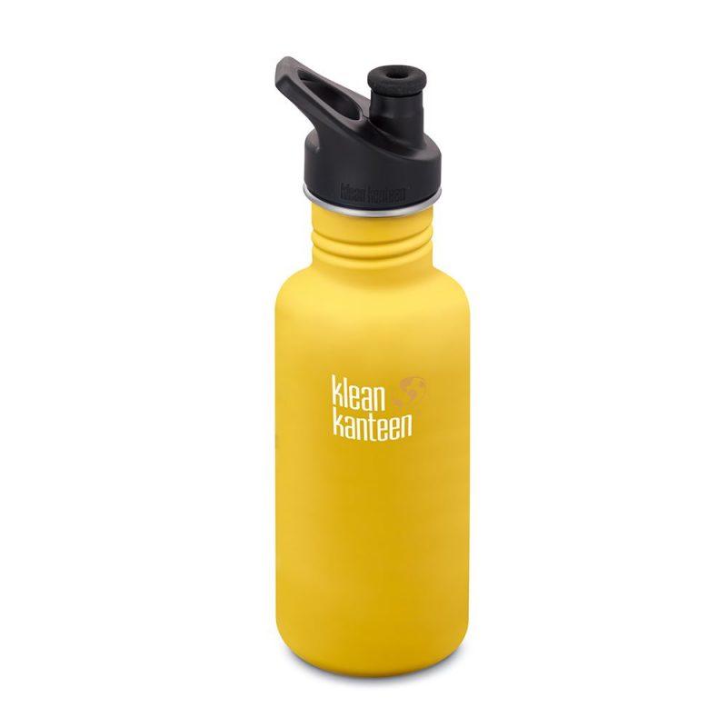 Klean Kanteen - Vattenflaska Rostfritt Stål Classic Lemon Curry 532 ml 1