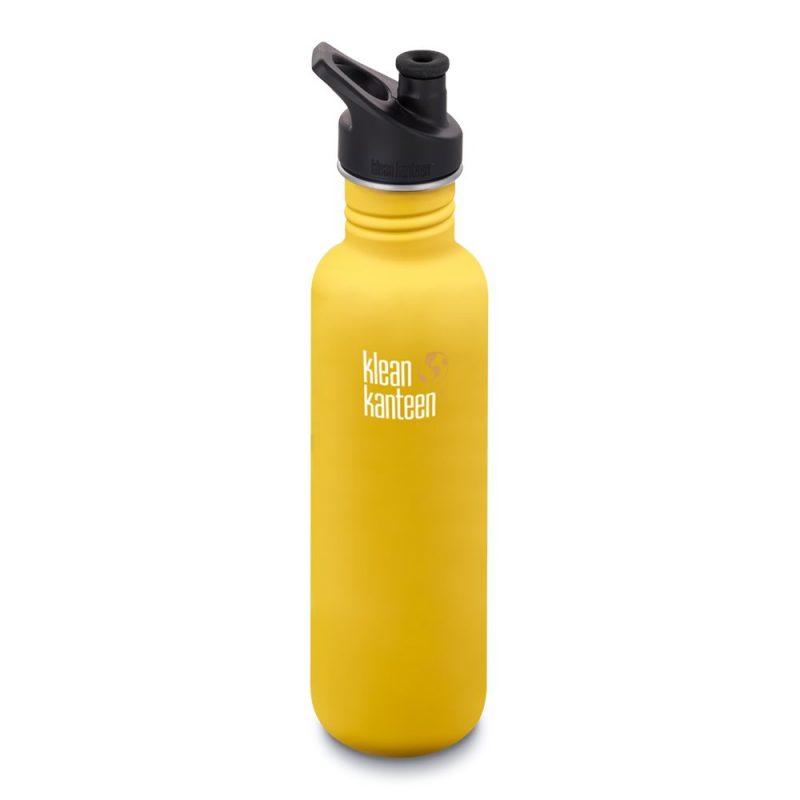Vattenflaska Classic Sport Cup Lemon Curry 800 ml