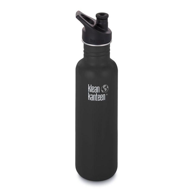 Klean Kanteen - Vattenflaska Rostfritt Stål Classic Shale Black 800 ml 1