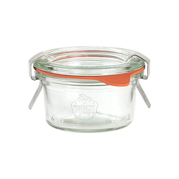 Weck Jars - Konserveringsburk i Glas Mold 50 ml, 1 st 1