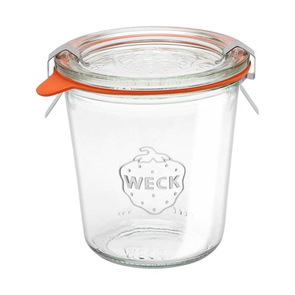Weck Jars - Konserveringsburk i Glas Mold 290 ml hög, 1 st 1