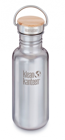 Klean Kanteen - Vattenflaska Rostfritt Stål Bambu Reflect Mirror Finish 532 ml 1