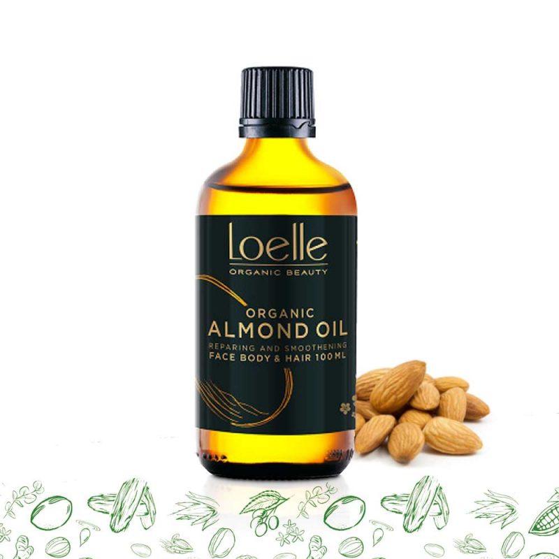Loelle - Mandelolja Ekologisk Kallpressad, 100 ml 1