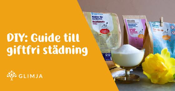 DIY: Guide till giftfri städning 1